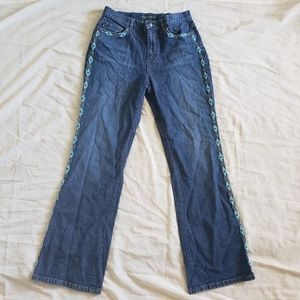 Ralph Lauren High Wasted Beaded Jeans